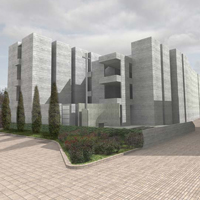 Progetto per l'ampliamento del cimitero di Marano